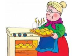 Бабушка и пирожки