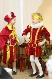 Во дворце короля