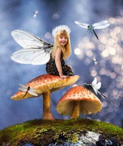 Девочка-стрекоза