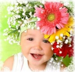 Дети как цветочки