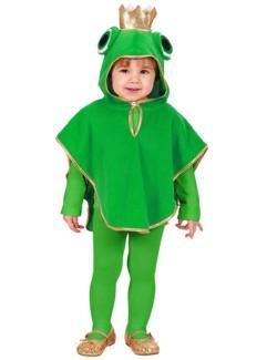 Ребенок в костюме лягушки