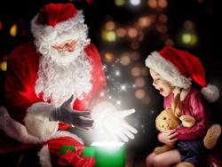 Дед Мороз с волшебством