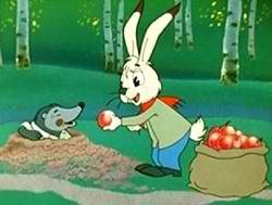 Заяц и крот