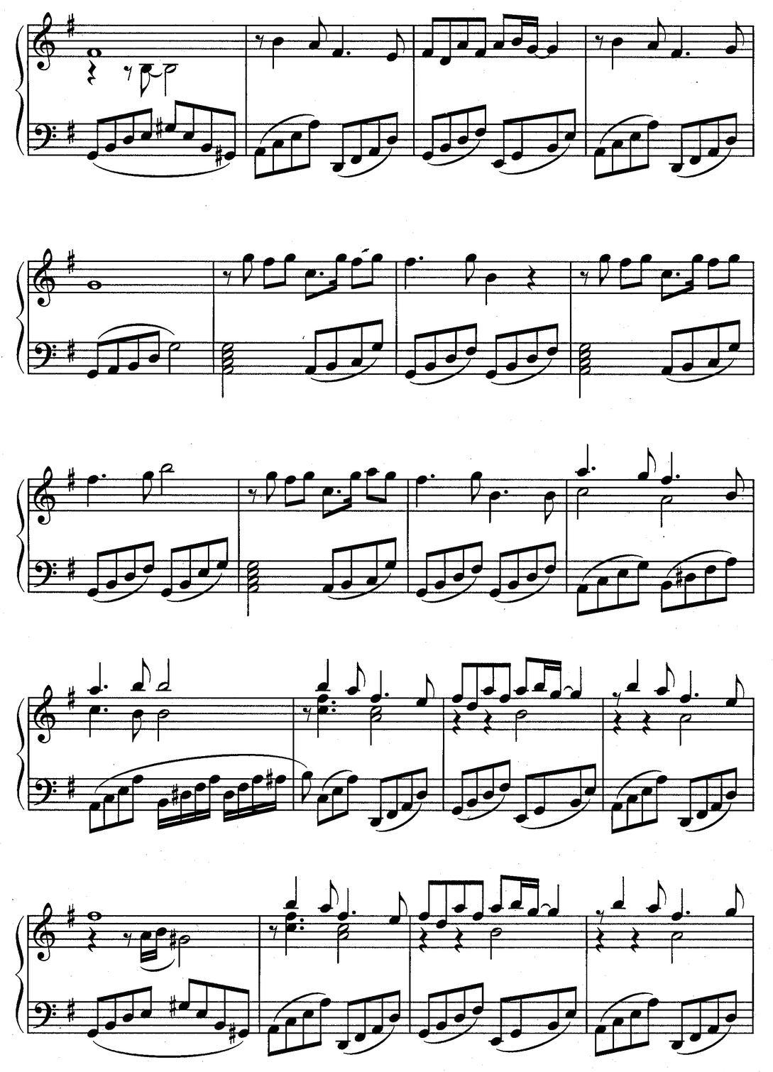 Ветер перемен (ноты) 2