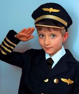 Юный летчик