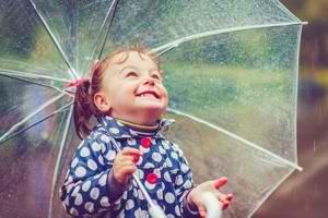 Ребёнок-дождик