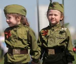 Девочки в военной форме