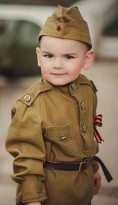Молодой пехотинец