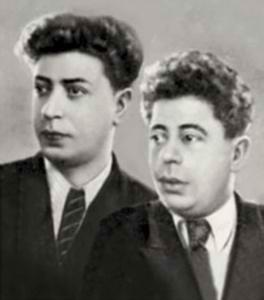 Композиторы братья Даниил и Дмитрий Покрасс